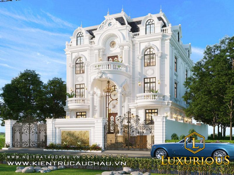 Phối Cảnh 3D Công Trình Biệt Thự Tại Mễ Trì