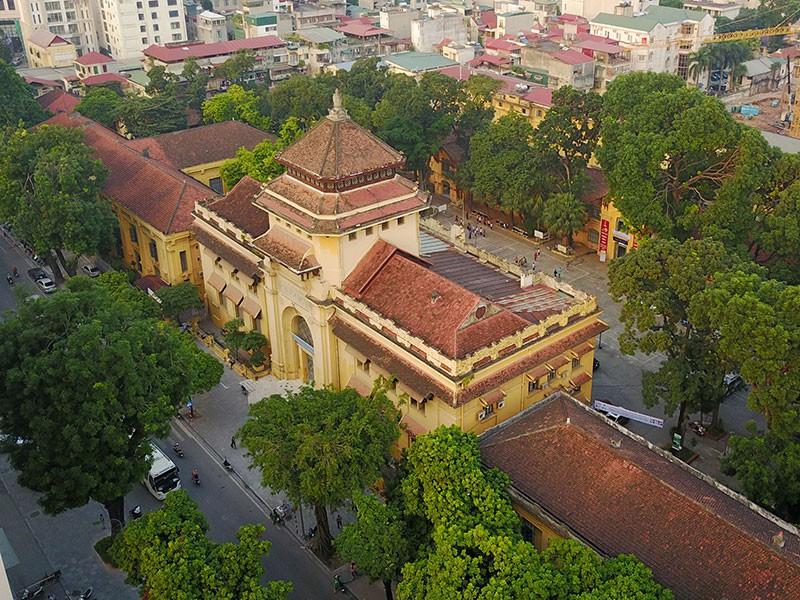 Trường Đại Học Đông Dương - Kiến Trúc Biệt Thự Pháp Ở Hà Nội