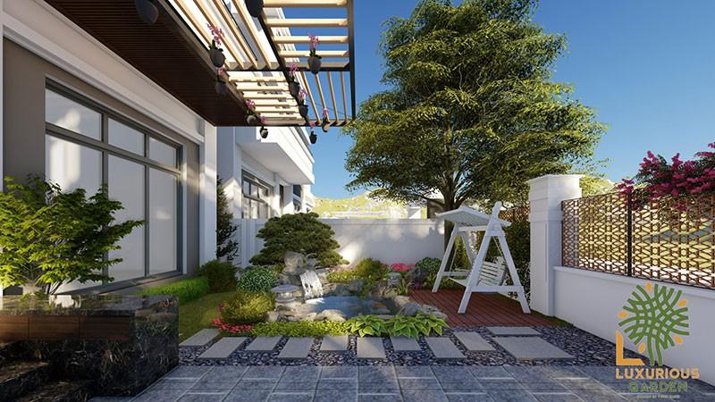 Luxurious Garden - Thiết Kế Phần Tiểu Cảnh Cho Khuôn Viên Nhà