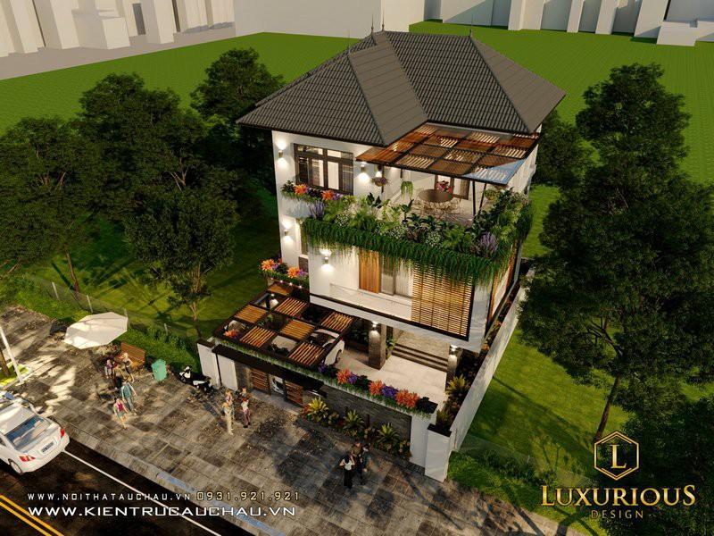 Dự án Thiết Kế Kiến Trúc Nhà Phố 16m Bid Residence