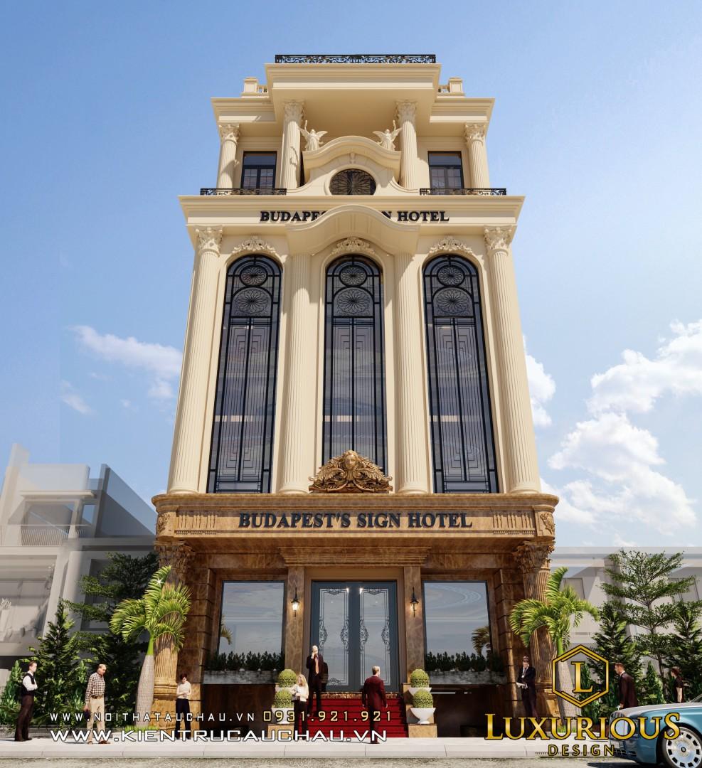 Khách Sạn Tân Cổ điển đẹp Lakeside Hotel Linh Đàm