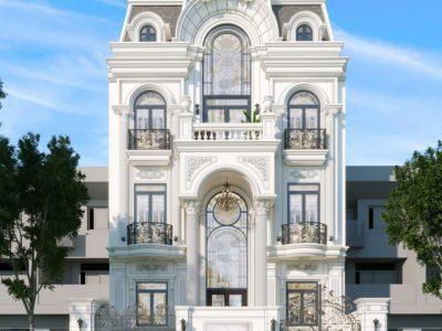 Dự Án Thiết kế Kiến Trúc Biệt Thự Phố Tân Cổ Điển Starlake