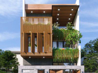 Thiết kế Kiến Trúc Nhà Phố Hiện Đại Masteri West Heights Hà Nội