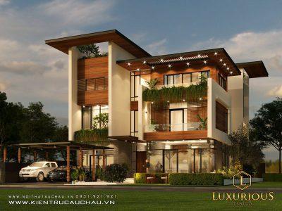 Dự Án Thiết kế Kiến Trúc Nhà Phố Hiện Đại Feliz Homes Hà Nội