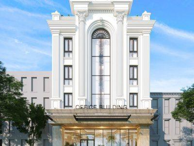 Dự Án Thiết kế Kiến Trúc Tòa Nhà Văn Phòng Le Jardin – ParkCity