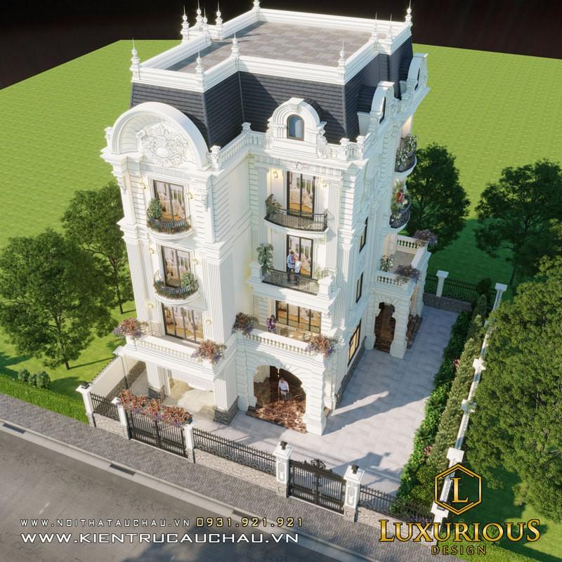 Thiết Kế Kiến Trúc Biệt Thự Đẹp Do Luxurious Design Thực Hiện