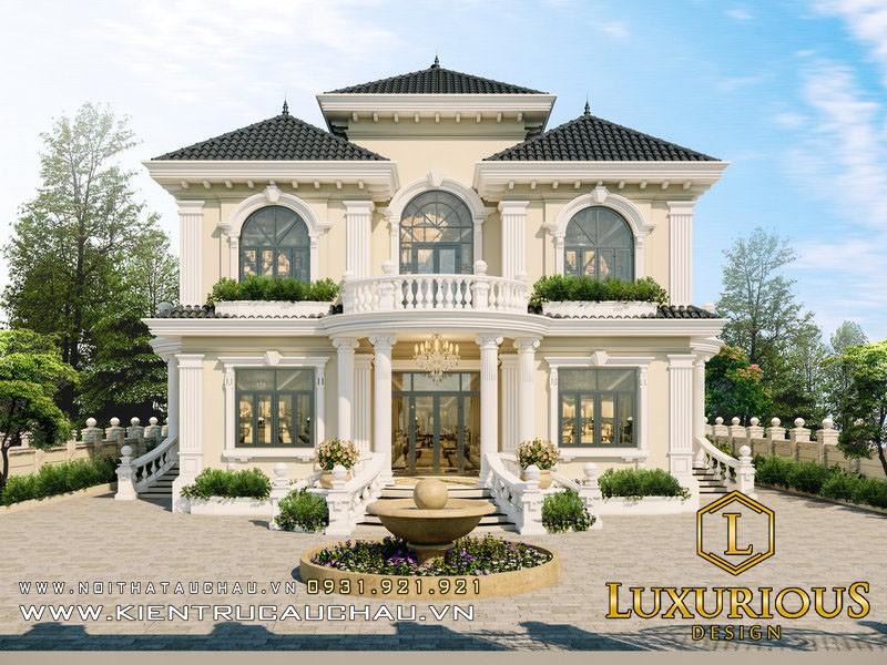 Thiết Kế Kiến Trúc Biệt Thự Đẹp Tại Đà Nẵng