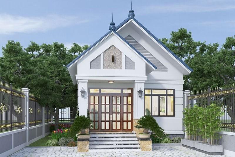 Mẫu Nhà Mái Thái Đơn Giản Hiện Đại