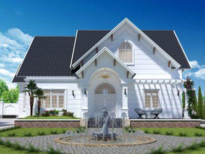 Thiết Kế Nhà Mái Thái 150m2 4 Phòng Ngủ Đẹp Nhất Hiện Nay