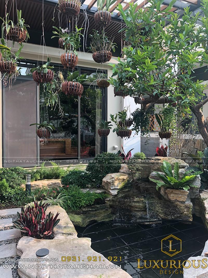 Một Góc Biệt Thự Vườn Đẹp Của Dự Án Starlake Tây Hồ Tây