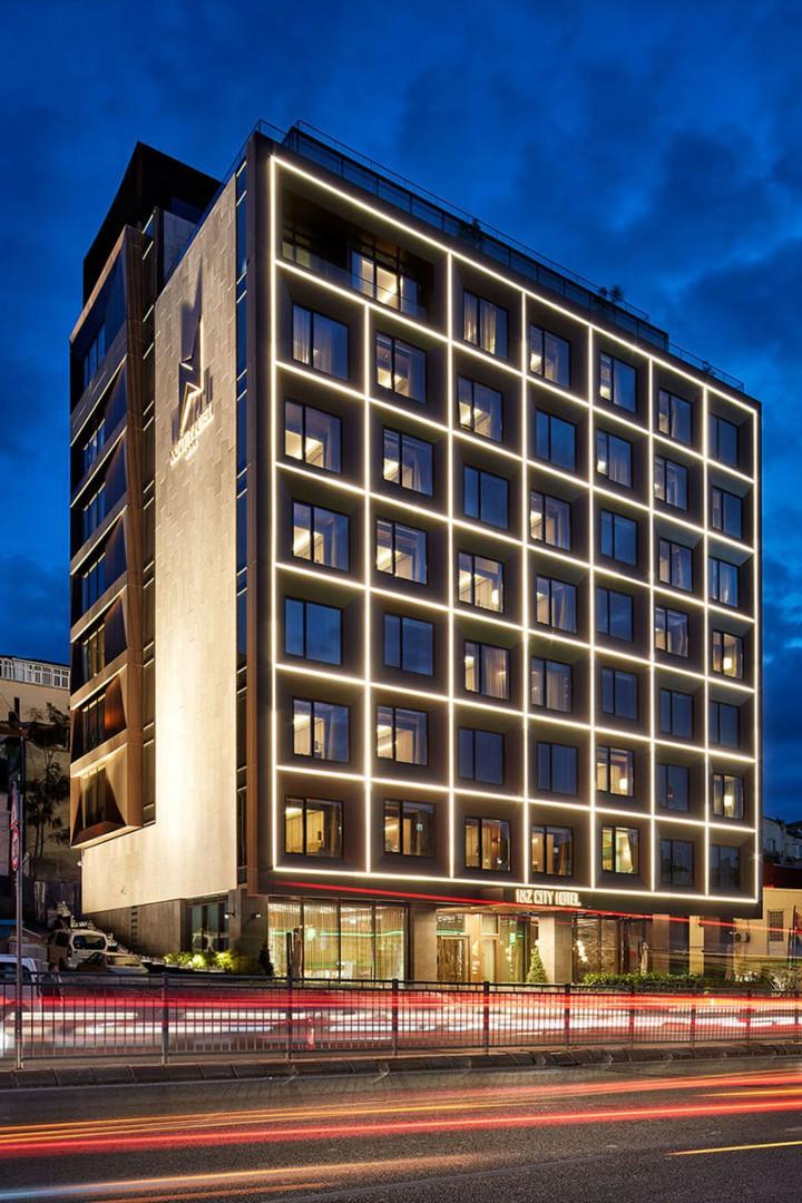 Thiết Kế Khách Sạn Đẹp Phong Cách Hiện Đại