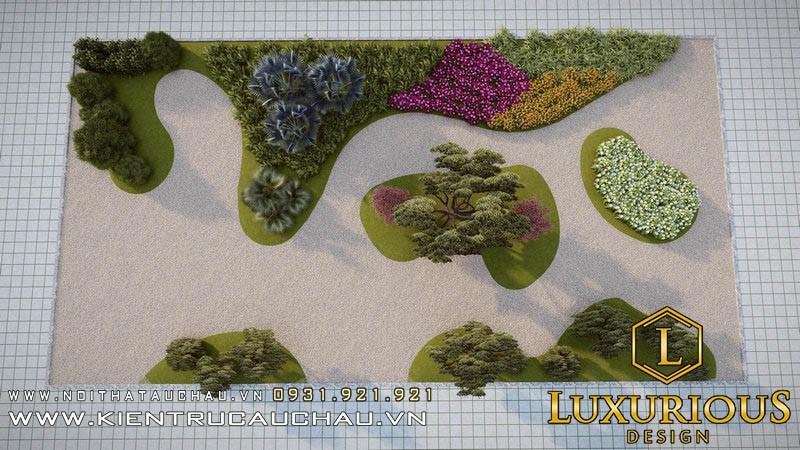 Thiết Kế Sân Vườn 100m2 Lavender Garden (13)