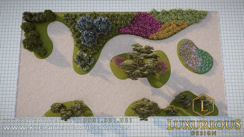 Thiết Kế Sân Vườn 100m2 Lavender Garden (14)