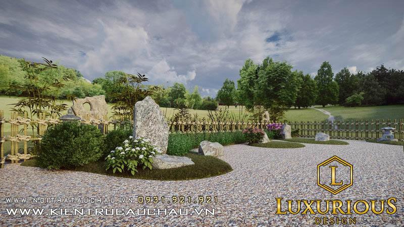 Thiết Kế Sân Vườn 100m2 Lavender Garden (17)