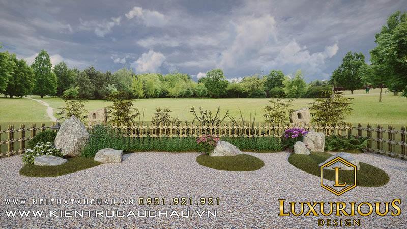 Thiết Kế Sân Vườn 100m2 Lavender Garden (18)