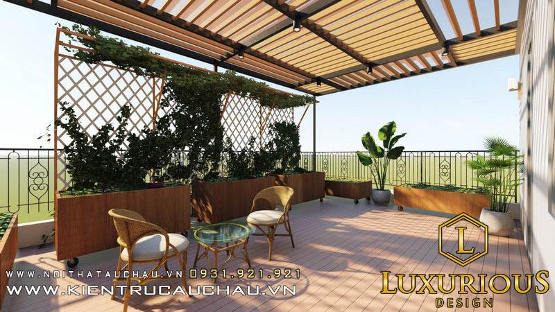 Quán cafe thu nhỏ trên sân thượng - Athens Vimefulland