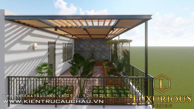 Thiết kế biệt thự vườn Athens Vimefulland