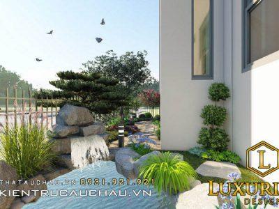 Mẫu Thiết Kế Sân Vườn Biệt Thự Pandora Thanh Trì