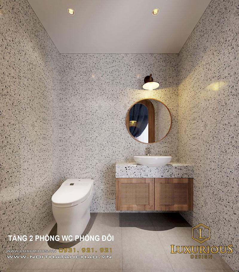 Thiết kế nội thất biệt thự tại Bãi Cháy - Nội thất nhà vệ sinh