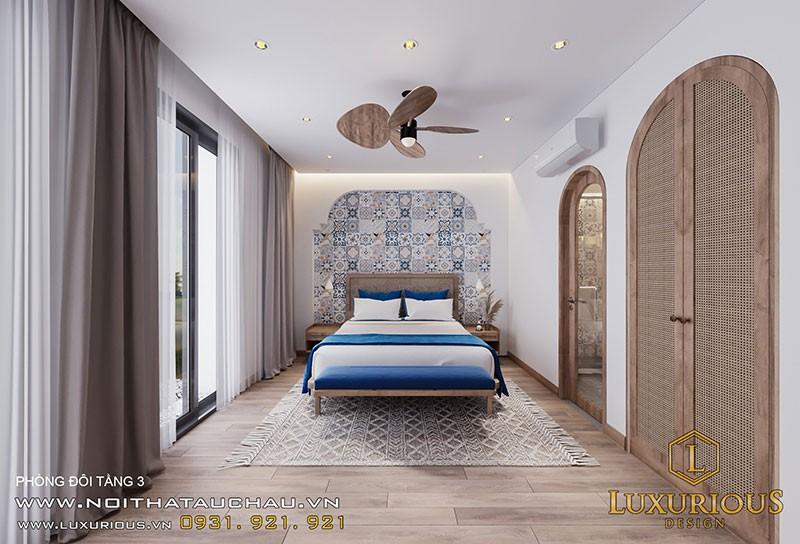 Nội Thất Phòng Ngủ Hiện Đại - Thiết kế nội thất biệt thự tại Bãi Cháy