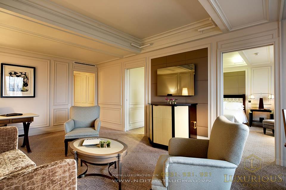 Mẫu khách sạn 5 sao mang phong cách tân cổ điển
