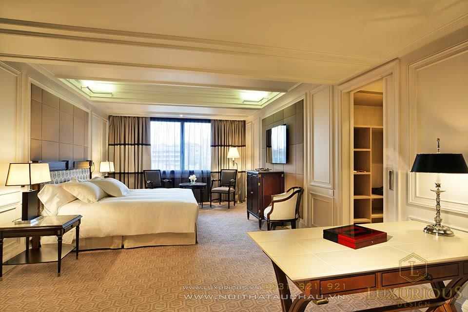 Phòng khách của khách sạn 5 sao đẳng cấp