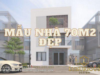 21+ Mẫu Nhà 70m2 Đẹp Chỉ Có Tại Luxurious Design