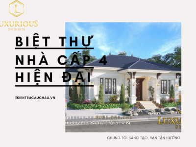 Top 500 Biệt Thự Nhà Vườn Cấp 4 Hiện Đại, Đẹp 2021