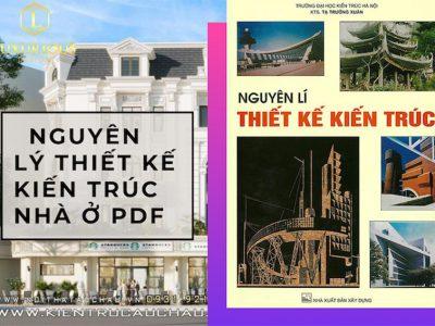Giáo Trình Nguyên Lý Thiết Kế Kiến Trúc Nhà Ở PDF